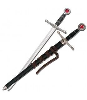 Épée templier enfant avec fourreau