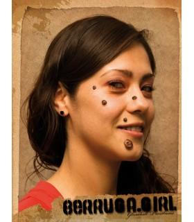 Berrugas à visage