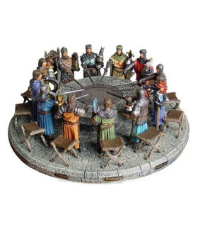 Chevaliers Table Ronde (47x47 cms.)