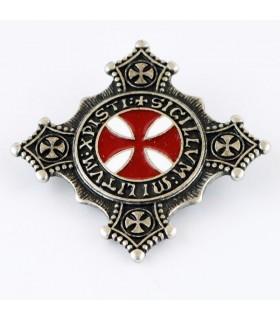 Broche Templar