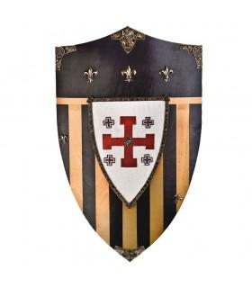 Bouclier Chevaliers de Jérusalem