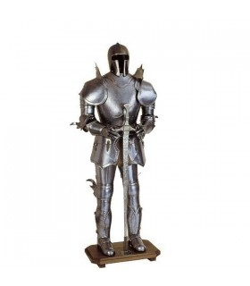 armure de chevalier teutonique, XV siècle