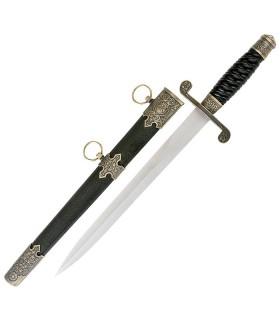Medieval poignard avec fourreau