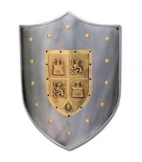 Bouclier de Castille médiévale et Leon
