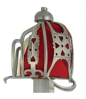 Anglais épée panier, s. XVII-XVIII