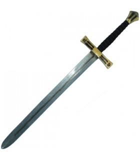 Cruzados épée latex, 110 cm.