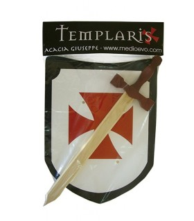Septembre Templar épée et le bouclier