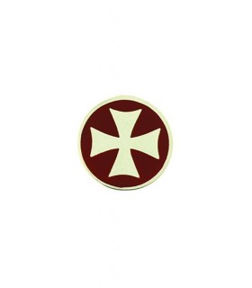 Templar Croix d'Argent Broche