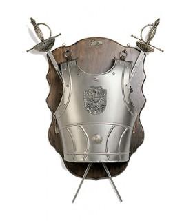 cuirasse et l'épée panoplie