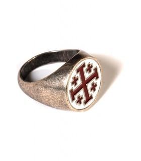 anneau croix des Templiers