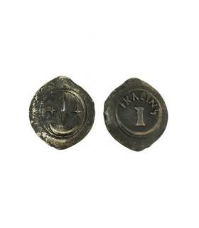 Monnaie Semisse (6 cm.)