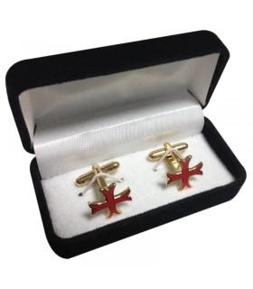Twins Templar pate croix