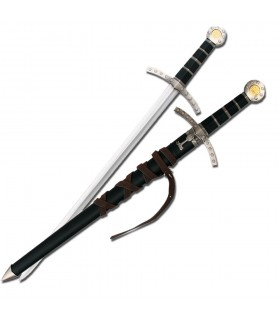 Épée médiévale avec fourreau enfant