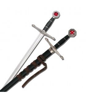 des enfants l'épée avec fourreau