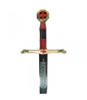 L'épée des Chevaliers du Ciel cadet. À 76,5 cms.