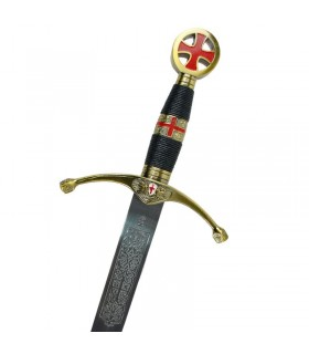 L'épée de l'croisés. La taille des cadets. 75 cms.