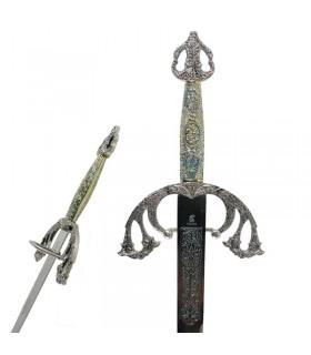 Tizona Cid épée à garde ciselé