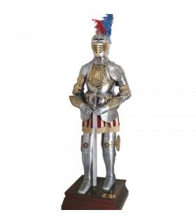Armure XVI siècle ciselé