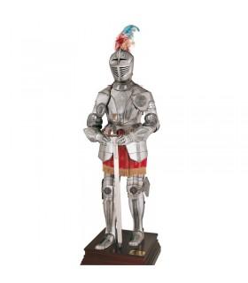 Armure XVIe siècle enregistrée