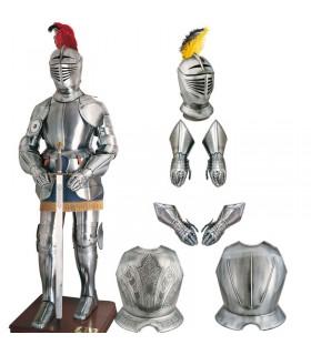 XVI lisse guerrier siècle casque