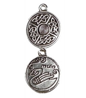 Pendentif astrologie celtique Muin