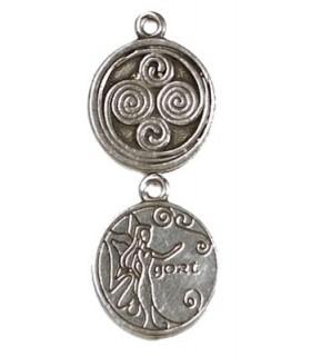 Pendentif astrologie celtique Gort