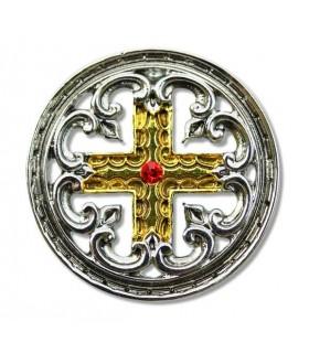 Croix Templière Pendentif Engrailed