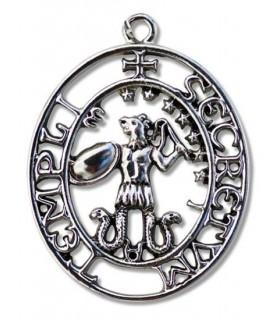 Pendentif Sceau des Templiers de Abraxas