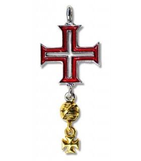 Tomar Croix des Templiers Pendentif