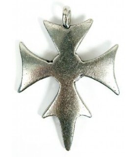 Templar pendentif croix 3