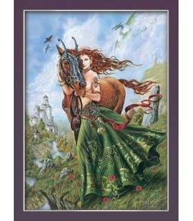 Affiche Rhiannon (30 x 40,5 cm)