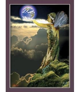 Affiche le créateur de la terre (30 x 40,5 cm)
