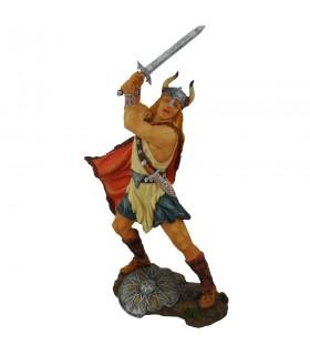 Viking guerrier avec épée