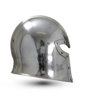 Barbuta médiévale