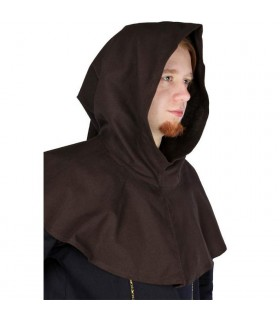 capuche marron