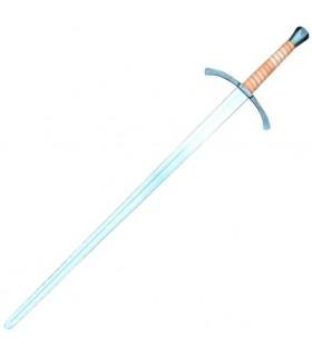 Combat à l'épée et l'autre moitié à la main lourde