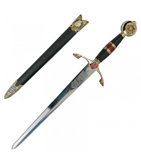 Black Prince poignard décoré