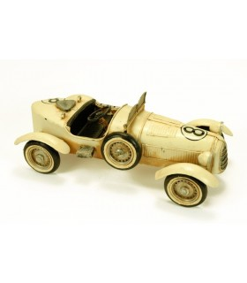 Miniature course automobile convertible