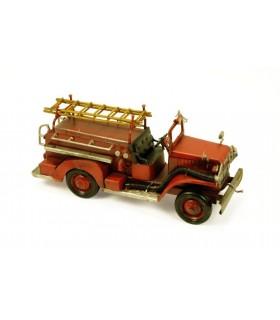 Miniature incendie de voiture