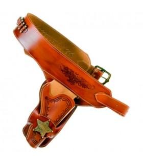 Sheriff pour une étui de revolver