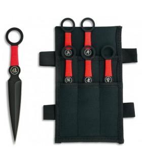 Septembre 6 ninjas lancer des couteaux