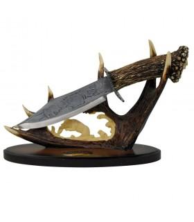 décoratif corne de couteau