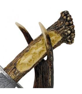 Cerf de couteaux décoratifs