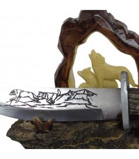 loups de couteaux décoratifs