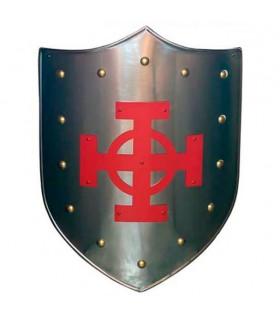 Celtic Cross Red Shield