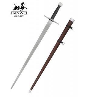 épée de formation Albrecht, la main et la moitié