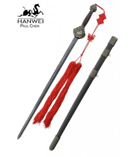 acier Jian épée de Damas