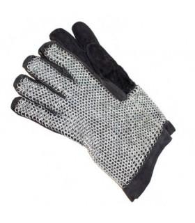 des gants en cotte de mailles