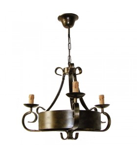 Forger lampe 3 bras