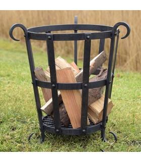 Panier pour bois de chauffage